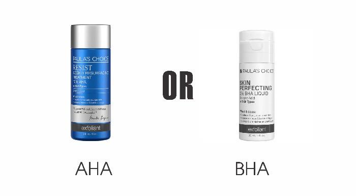 AHA hay BHA - Giải pháp thông minh nào cho làn da của bạn